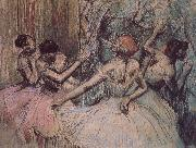 Edgar Degas Dance behind the curtain china oil painting reproduction