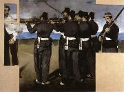 Edouard Manet The Execution of  Maximillian china oil painting reproduction