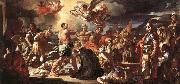 Francesco Solimena The Martyrdom of Sts Placidus and Flavia china oil painting reproduction