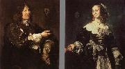 Frans Hals Stephanus Geraerdts and Isabella Coymans china oil painting reproduction