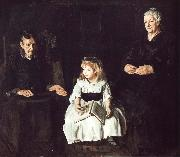 George Wesley Bellows Jan  Ailino and Anna china oil painting reproduction
