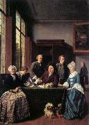 HOREMANS, Jan Jozef II The Marriage Contract china oil painting reproduction