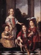 MAES, Nicolaes Portrait of Four Children china oil painting reproduction