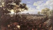 MEULEN, Adam Frans van der The Army of Louis XIV in front of Tournai in 1667 china oil painting reproduction