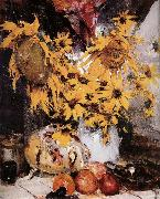 Nikolay Fechin Sunflower china oil painting reproduction