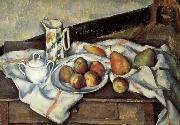 Paul Cezanne Pear and peach china oil painting reproduction