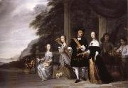 REMBRANDT Harmenszoon van Rijn Pieter Cnoll and his Family china oil painting reproduction