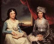 Ralph Earl Mother and her Daughter china oil painting reproduction