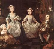 William Hogarth The Graham Childen china oil painting reproduction