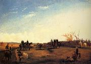 unknow artist Presentation of Charger Coquette to Colonel Mosby by the men of his Command,December 1864 china oil painting reproduction