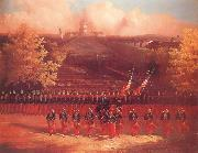 unknow artist The Army of the Potomac Marching up Pennsylvania Avenue,Washington china oil painting reproduction