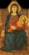Ambrogio Lorenzetti Madonna of Vico l'Abate china oil painting reproduction