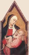 Ambrogio Lorenzetti Suckling Madonna china oil painting reproduction