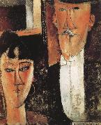 Amedeo Modigliani Bride and Groom china oil painting reproduction
