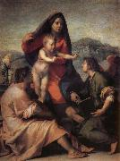 Andrea del Sarto Holy famil and angel china oil painting reproduction