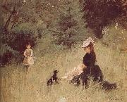 Berthe Morisot Meadow china oil painting reproduction