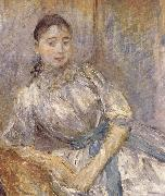 Berthe Morisot The girl on the bench china oil painting reproduction