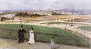 Berthe Morisot View of Paris from the Trocadero china oil painting reproduction