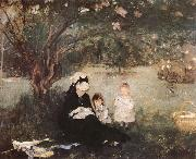 Berthe Morisot Lilac trees china oil painting reproduction