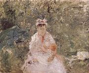 Berthe Morisot The biddy holding the infant china oil painting reproduction