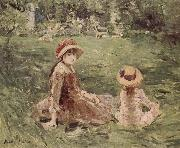 Berthe Morisot In the Moliketer-s garden china oil painting reproduction