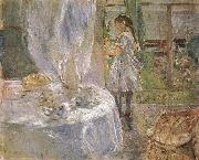 Berthe Morisot At the little cottage china oil painting reproduction