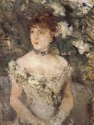 Berthe Morisot The woman dress for ball china oil painting reproduction