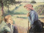 Camille Pissarro The Chat china oil painting reproduction