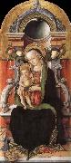 Carlo Crivelli Faith madonna with child, and the donor china oil painting reproduction