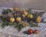 Claude Monet Still life with Pears and Grapes china oil painting reproduction
