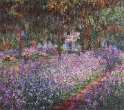 Claude Monet Monet-s Garden the Irises china oil painting reproduction