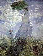 Claude Monet Woman with a Parasol china oil painting reproduction