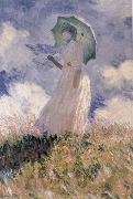 Claude Monet Study of a Figure outdoors china oil painting reproduction