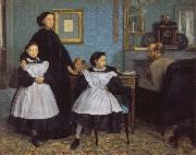 Edgar Degas The Belleli Family china oil painting reproduction