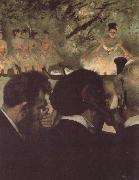 Edgar Degas Musicians in the orchestra china oil painting reproduction