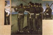 Edouard Manet The Execution of Emperor Maximilian china oil painting reproduction