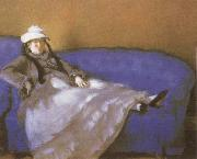 Edouard Manet Madame Manet on a Divan china oil painting reproduction