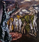 El Greco The Opening of the Fifth Seal china oil painting reproduction