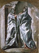 El Greco The Visiation china oil painting reproduction