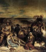 Eugene Delacroix The Massacre at Chios china oil painting reproduction