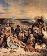 Eugene Delacroix The Massacre on Chios china oil painting reproduction
