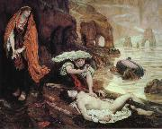Ford Madox Brown Haydee Discovers the Body of Don Juan china oil painting reproduction