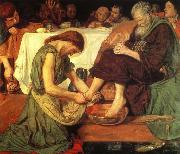 Ford Madox Brown Jesus Washing china oil painting reproduction