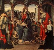 Fra Filippo Lippi Madonna with Child and Saints china oil painting reproduction