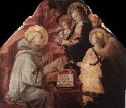 Fra Filippo Lippi The Virgin Appears to St Bernard china oil painting reproduction