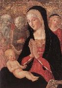 Francesco di Giorgio Martini Madonna and Child with Saints and Angels china oil painting reproduction