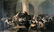 Francisco Jose de Goya The Inquisition Tribunal china oil painting reproduction