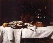 Francois Bonvin Still life with Lemon and Oysters china oil painting reproduction