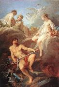 Francois Boucher Venus Demanding Arms from Vulcan for Aeneas china oil painting reproduction
