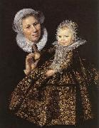 Frans Hals Catharina Hooft with her Nurse china oil painting reproduction